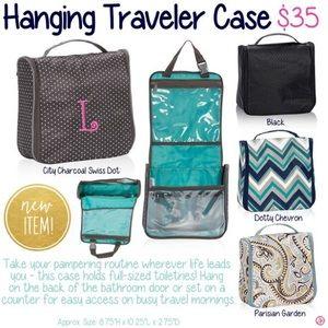 thirty one bags hanging traveler case parisian garden poshmark